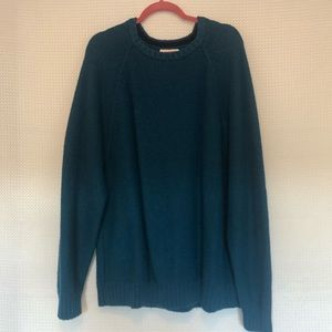 Old Navy Turquoise Sweater. Size XXL